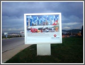 Türk Hava Yolları Raket Pano