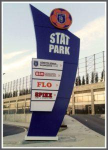 Başakşehir Futbol Kulübü Pilon Tabela