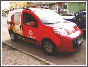 Vodafone Araç Giydirme