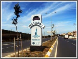 Sancaktepe Belediyesi Pilon Tabela