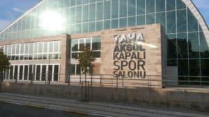 Taha Akgül Spor Salonu Cephe Tabela