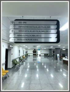 Hastane Yönlendirme Panosu