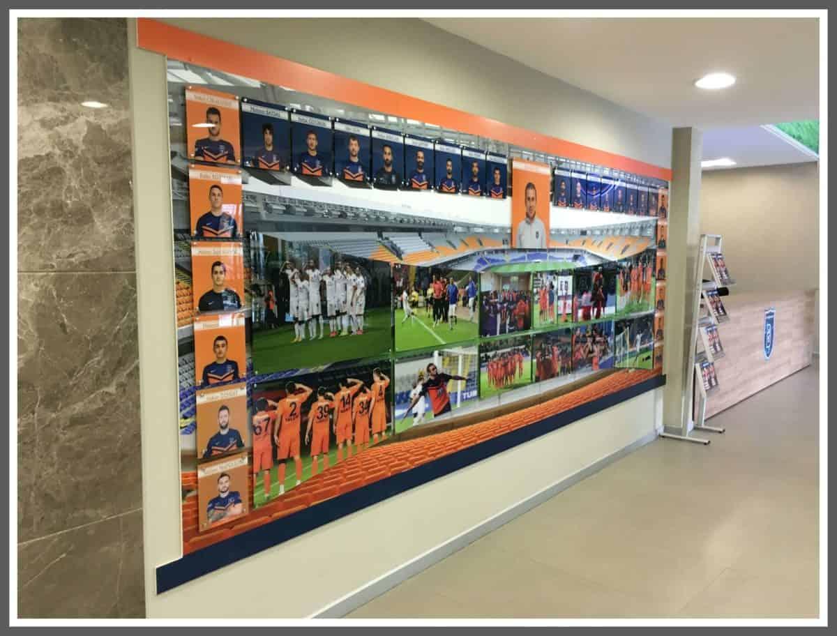 İstanbul Başakşehir Futbol Kulübü Dekorasyon