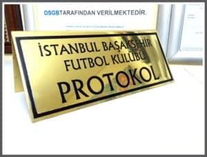 İstanbul Başakşehir Futbol Kulübü Yönlendirme Panosu